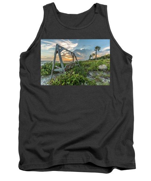 The Old Beach Swing -  Sullivan's Island, Sc Tank Top