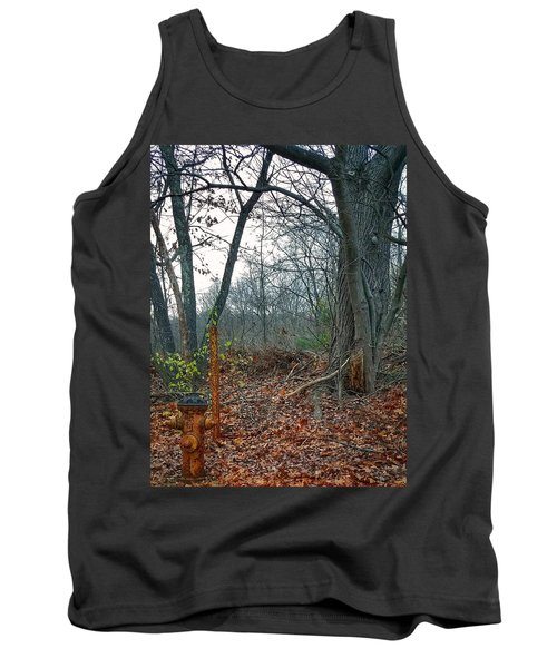 The Old Fire Hydrant Tank Top