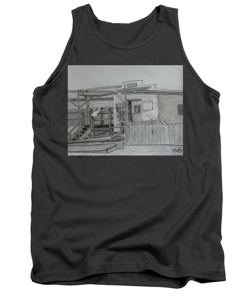 The Old  Jail  Tank Top by Tony Clark