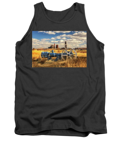 The Old Lumber Mill Tank Top by James Eddy
