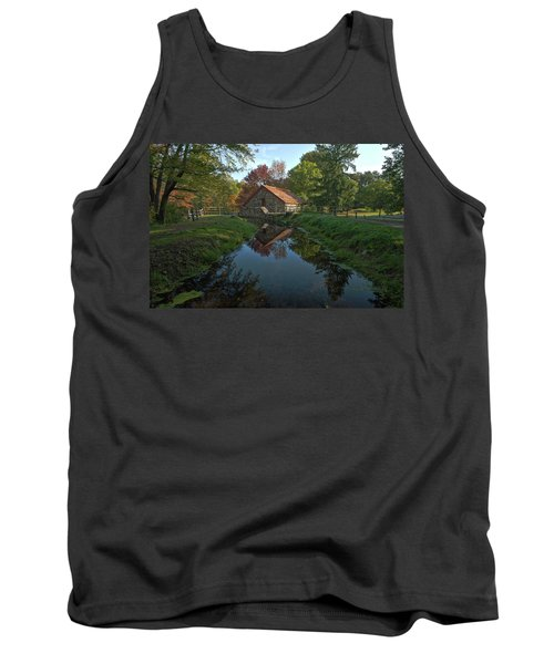 Tank Top featuring the photograph The Old Mill by Stephen Flint