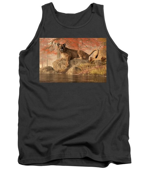 The Old Mountain Lion Tank Top