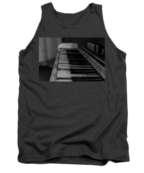 The Old Piano Tank Top