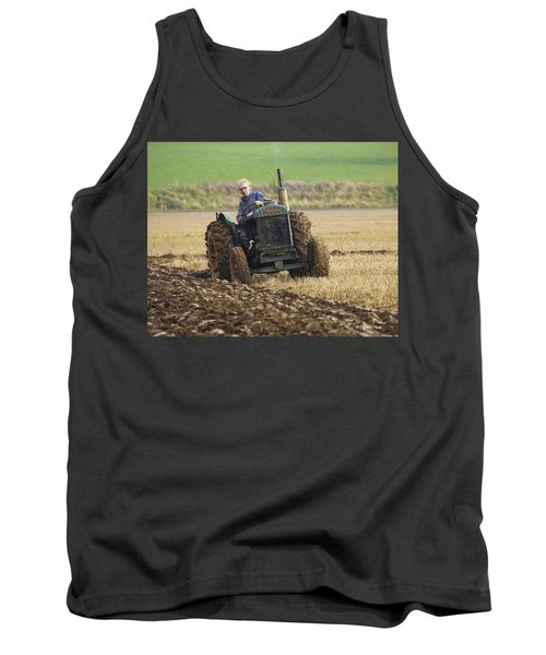 Tank Top featuring the photograph The Old Ploughman by Roy McPeak