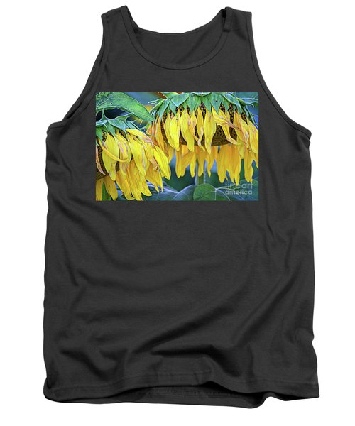 The Old Sunflowers Tank Top
