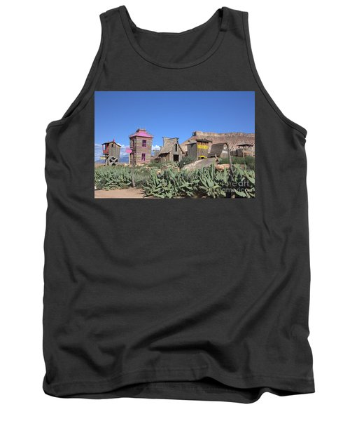 The Old Western Town  Tank Top