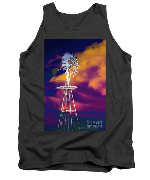 The Old Windmill  Tank Top by Toma Caul