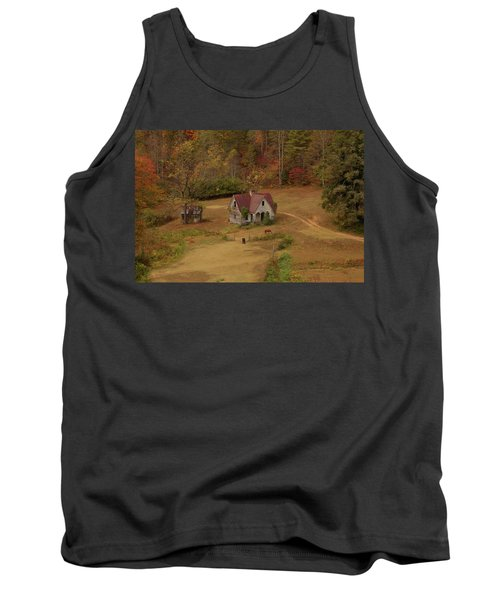 The Oldest House In North Carolina Tank Top by Sharon Batdorf