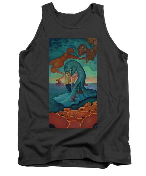 Tank Top featuring the painting The Only Thing That Will Have Mattered by Andrew Batcheller