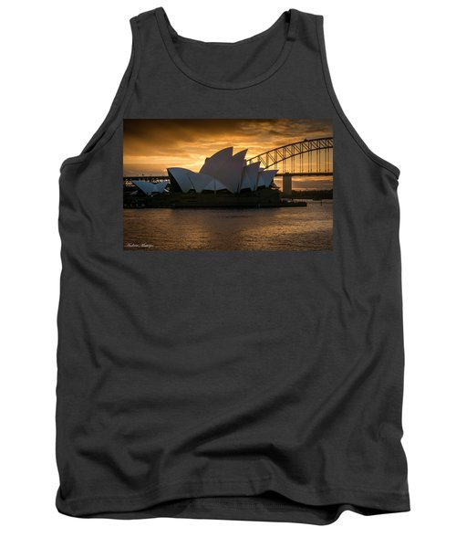 Tank Top featuring the photograph The Opera House by Andrew Matwijec