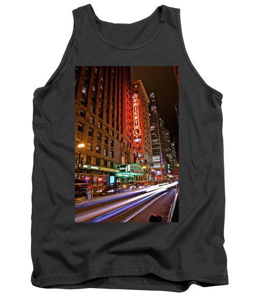 The Oriental Theater Chicago Tank Top