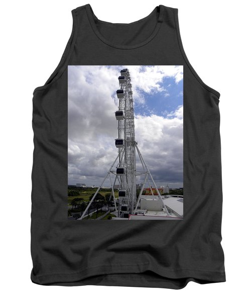 Tank Top featuring the photograph The Orlando Eye 001 by Chris Mercer