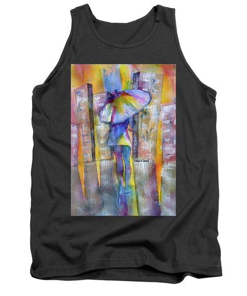 The Other Girl In The City Tank Top