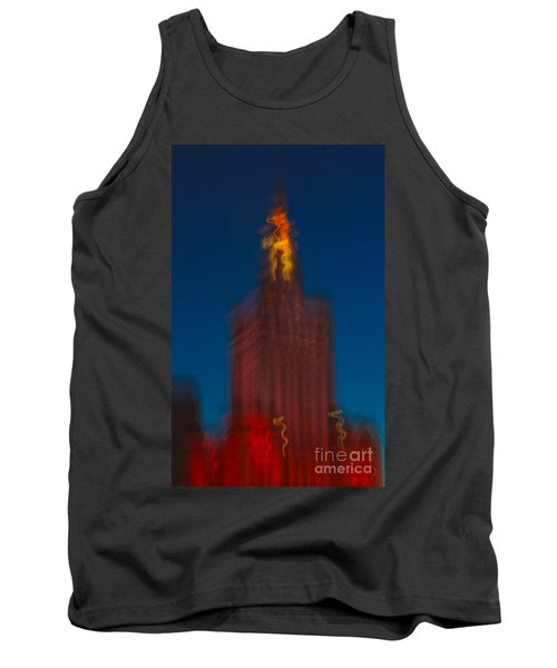 The Palace Of Culture And Science Tank Top