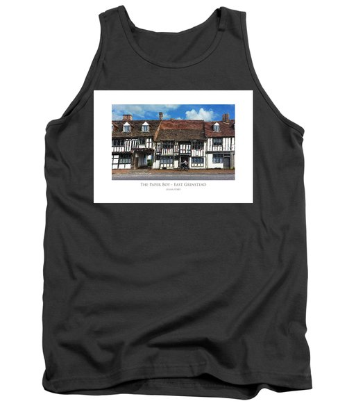 The Paper Boy - East Grinstead Tank Top