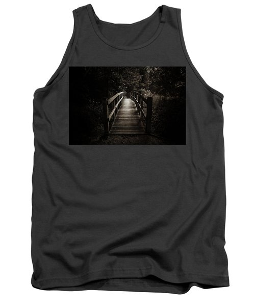 The Path Between Darkness And Light Tank Top