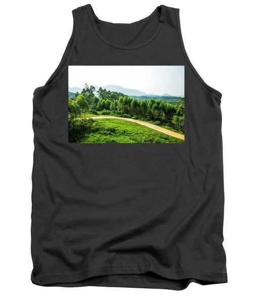 The Path In The Mountain Tank Top