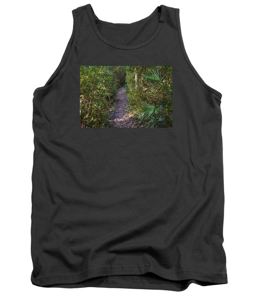 The Path Of Life Tank Top by Kenneth Albin