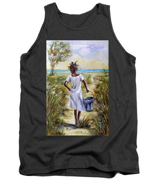 The Path To The Sea Tank Top
