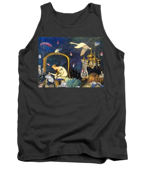 The Pearl Of Great Price Tank Top by Gail Kirtz