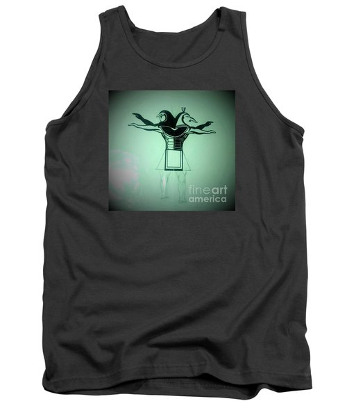 The Perfect Circling Of Your Square Tank Top by Talisa Hartley