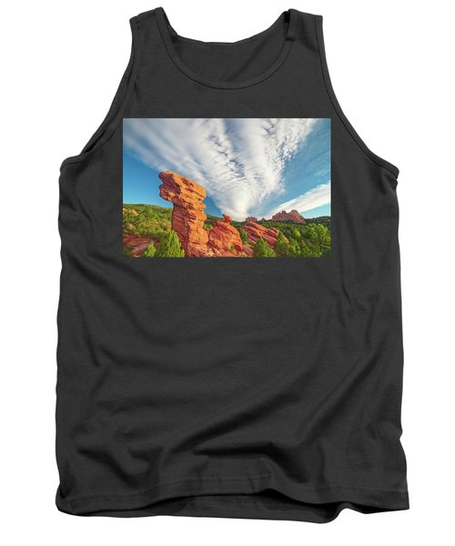 The Photogenic Purlieu Of Our Home, Sweet Hometown  Tank Top