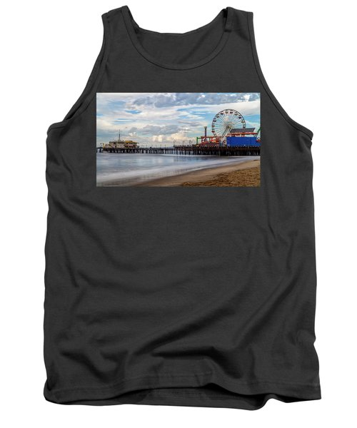 The Pier On A Cloudy Day Tank Top