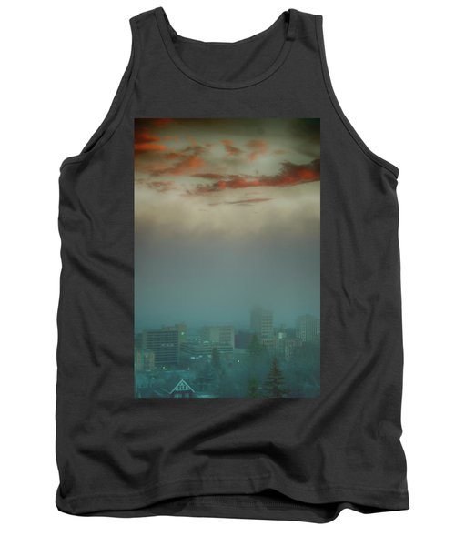 The Planet Above The Earth Tank Top