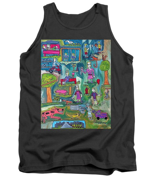 The Playground Tank Top by Brandon Drucker