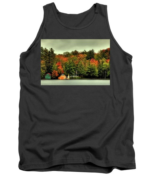 The Pond In Old Forge Tank Top by David Patterson