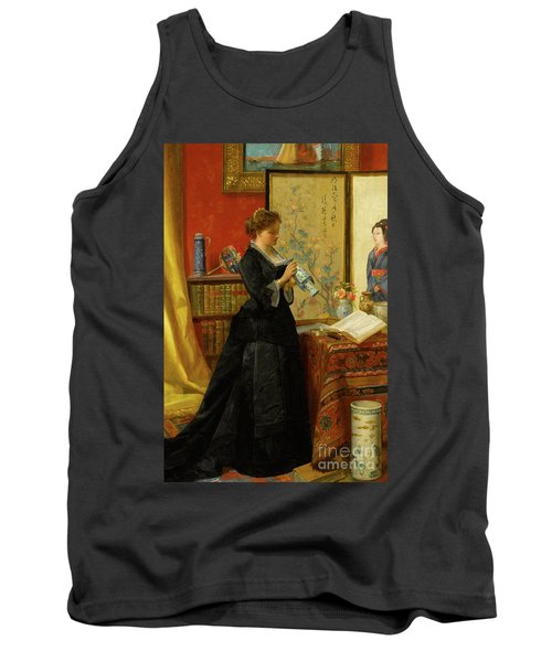 The Porcelain Collector Tank Top