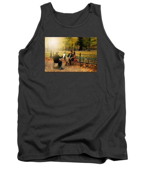 The Portraiture Tank Top by Diana Angstadt