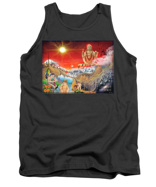 The Power Of Different Gods Tank Top