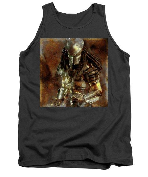The Predator Scroll Tank Top