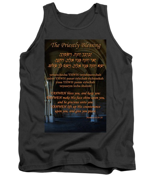 The Priestly Aaronic Blessing Tank Top