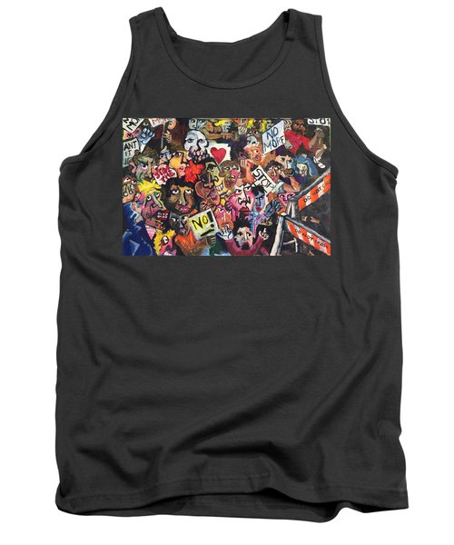 The Protest  Tank Top by Jame Hayes