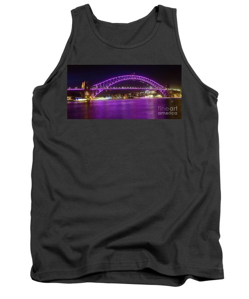 Tank Top featuring the photograph The Purple Coathanger By Kaye Menner by Kaye Menner