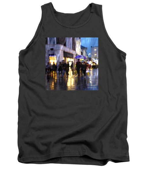 Tank Top featuring the photograph The Purple Umbrella by LemonArt Photography