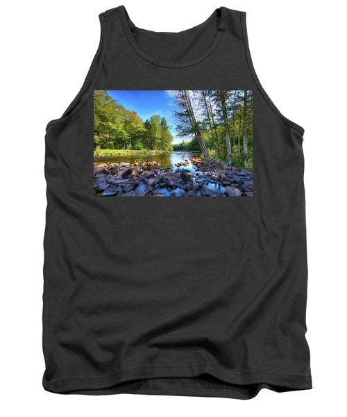 The Raquette River Tank Top by David Patterson