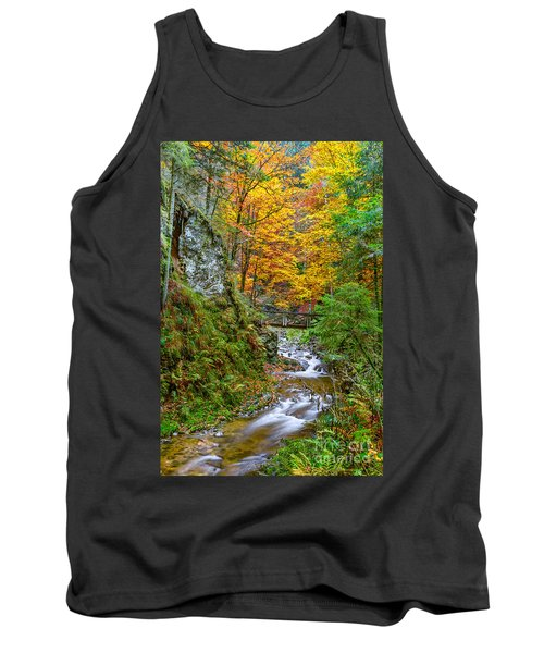 Cascades And Waterfalls Tank Top