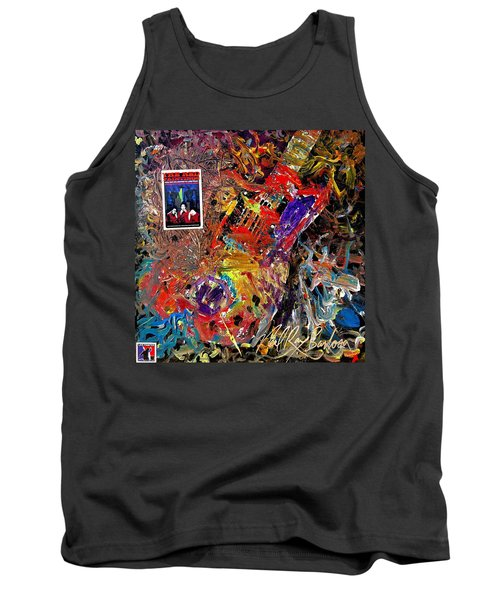 The Red Paintings Tank Top