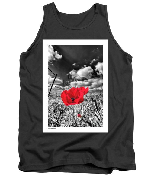 The Red Spot Tank Top