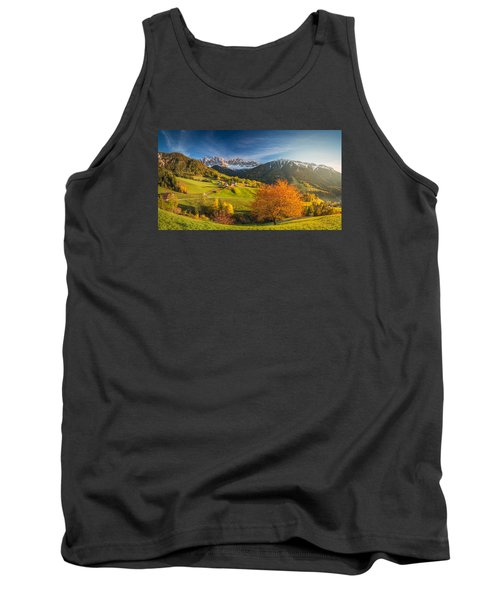 The Red Tree Tank Top