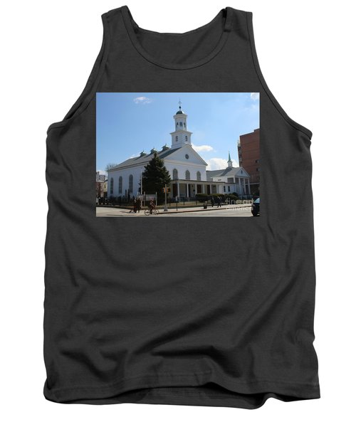 The Reformed Church Of Newtown- Tank Top