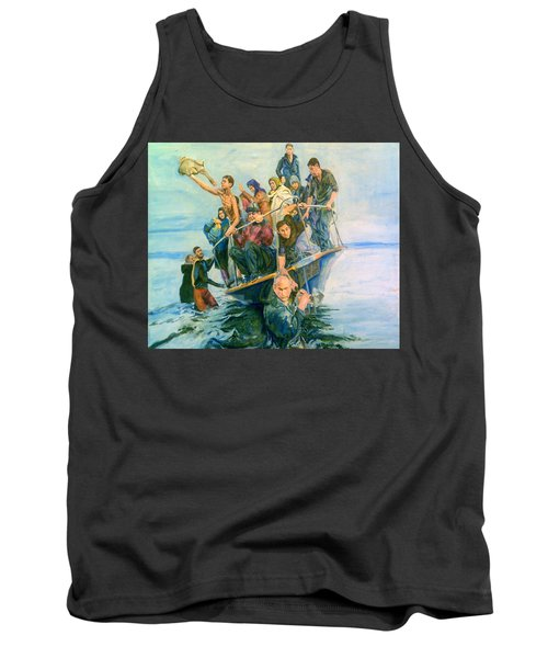 The Refugees Seek The Shore Tank Top