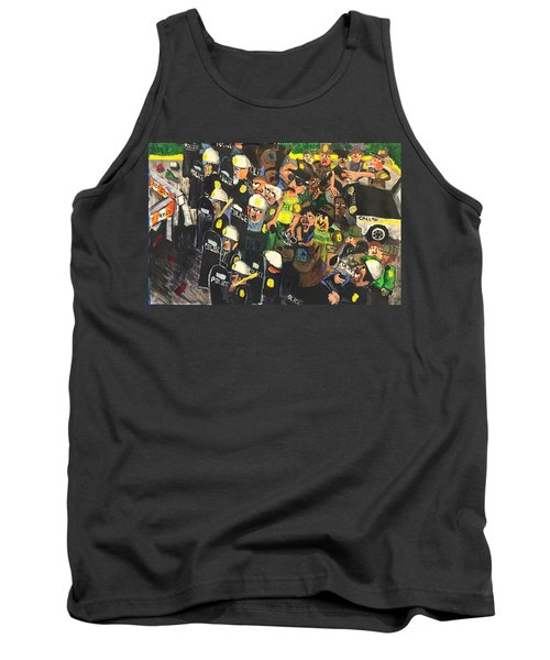 The Response  Tank Top by Jame Hayes