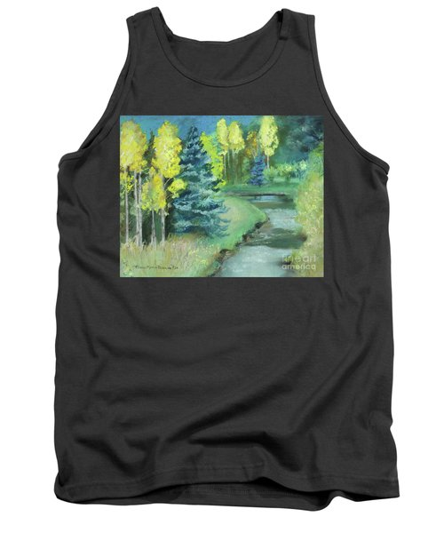 Tank Top featuring the drawing The Reunion  by Robin Maria Pedrero