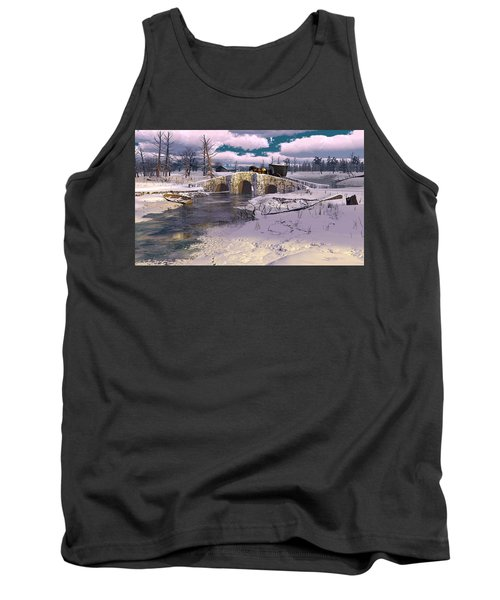 The Rhythm Of Frost Tank Top