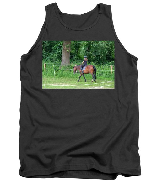 The Riding School In Suburb Tank Top