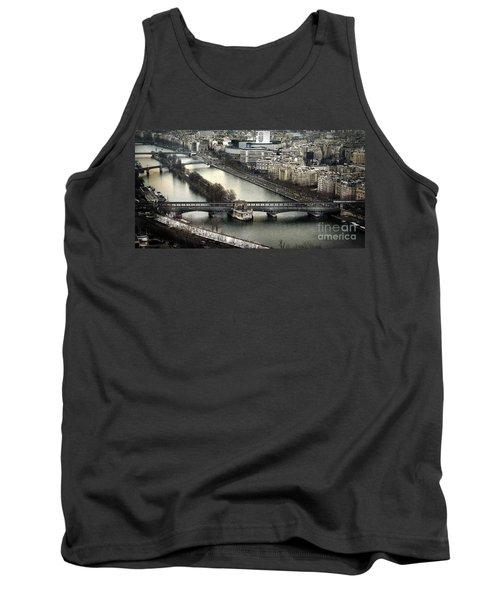 The River Seine - Paris Tank Top